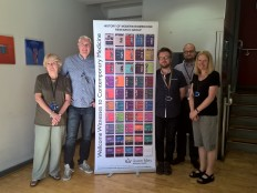 011: At the School of History of Queen Mary University of London (2016), amongst other members of the History of Modern Biomedicine Research Group: Prof. Tilli Tansey OBE, Mr Alan Yabsley, Mr Adam Wilkinson and Ms Caroline Overy.